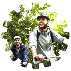 Cyklotrasy v Třeboni v Jižních Čechách