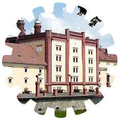 Pivovar Regent v Třeboni v Jižních Čechách